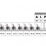 Cadeira de rodas reformada F-0016 – Retirada no local