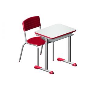 Conjunto Escolar – CJA-04 (VERMELHO)