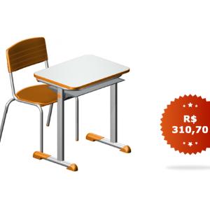 Conjunto Escolar – CJA-01 (LARANJA)